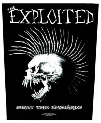 The Exploited Beat The Bastards Rückenaufnäher