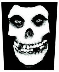 Misfits Face Skull Rückenaufnäher