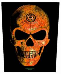 Alchemy Omega Skull Rückenaufnäher
