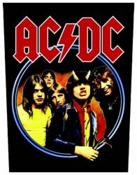 AC/DC Highway To Hell Rückenaufnäher