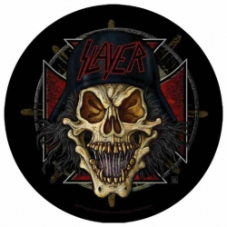 Slayer Wehrmacht Circular Rückenaufnäher
