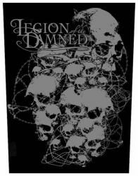 Legion Of The Damned Skulls Rückenaufnäher