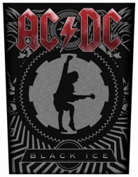 AC/DC Black Ice Backpatch