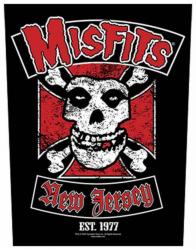 Misfits Biker Rückenaufnäher
