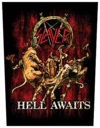 Slayer Hell Awaits Rückenaufnäher