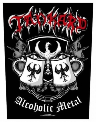 Amon Amarth Bearded Skull Backpatch