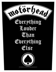 Motörhead Everything Louder Rückenaufnäher