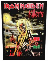 Iron Maiden Killers Rückenaufnäher