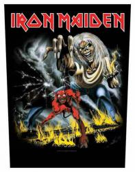 Iron Maiden Number of the Beast Rückenaufnäher
