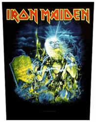 Iron Maiden Live After Death Rückenaufnäher