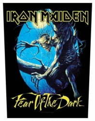 Iron Maiden Fear of the Dark Rückenaufnäher