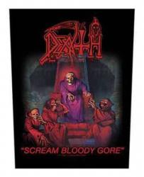 Death Scream Bloody Gore Rückenaufnäher