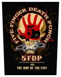 Five Finger Death Punch Way Of The Fist Rückenaufnäher