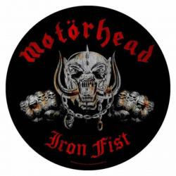 Motörhead Iron Fist Rückenaufnäher