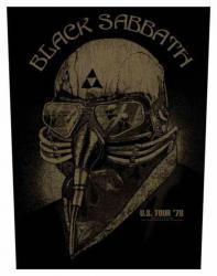 Black Sabbath US Tour '78 Rückenaufnäher