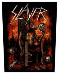 Slayer Devil On Throne Rückenaufnäher
