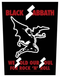 Black Sabbath We Sold Our Souls Rückenaufnäher