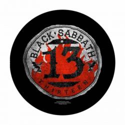 Black Sabbath 13 Circular Rückenaufnäher