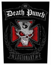 Five Finger Death Punch Legionary Rückenaufnäher