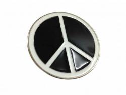 Peace Zeichen Gürtelschnalle