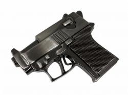 Gürtelschnalle Kleine Pistole