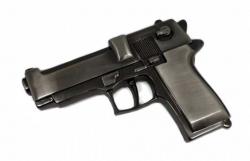 Gürtelschnalle Pistole