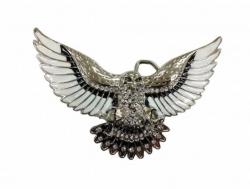 Gürtelschnalle Adler mit gespreizten Flügeln