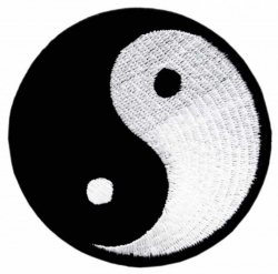 Aufnäher Yin Yang