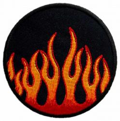 Aufnäher Flammen