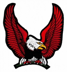 Aufnäher Roter Adler