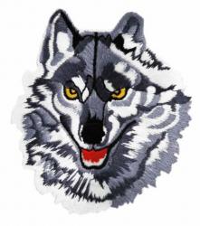 Aufnäher Grauer Wolf