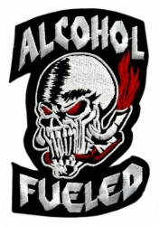 Aufnäher Alcohol Fueled