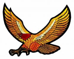 Aufnäher Gelber Adler