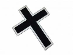 Aufnäher Schwarzes Kreuz
