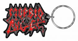 Morbid Angel Red Logo Schlüsselanhänger