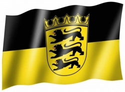 Fahne Baden Württemberg