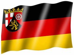 Fahne Rheinland Pfalz