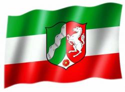 Fahne Nordrhein Westfalen