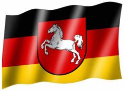 Fahne Niedersachsen