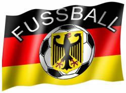 Fahne Deutschland Fussball