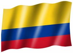 Fahne Kolumbien