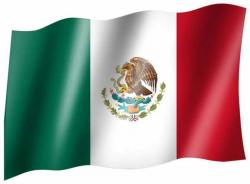 Fahne Mexiko