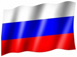 Fahne Russland