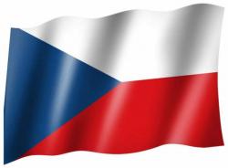 Fahne Tschechien