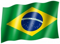 Fahne Brasilien