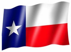 Fahne Texas
