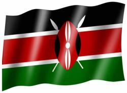 Fahne Kenia