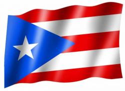 Fahne Puerto Rico