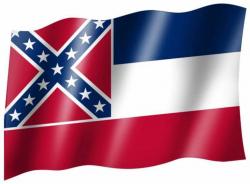Fahne Mississippi