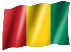 Fahne Guinea